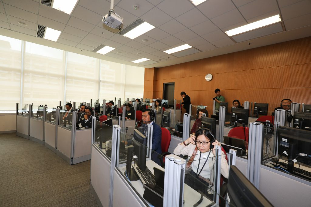 Facilities in the Translation and Interpretation Laboratory of School of Translation